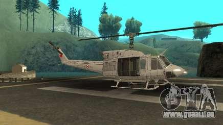 Agusta Bell 212 Turkısh Des Forces Navales pour GTA San Andreas