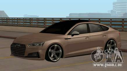 Audi S4 Cabriolet Rotor pour GTA San Andreas