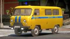 UAZ 3962 Police