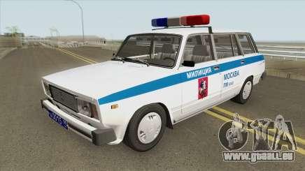 VAZ 2104 (Police de Moscou) pour GTA San Andreas