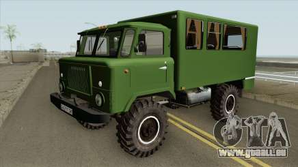 GAZ 66 (HQ) pour GTA San Andreas