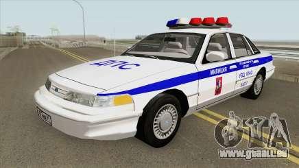 Ford Crown Victoria (Moscow Police) 1997 für GTA San Andreas