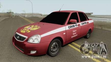 Lada Priora (COVID-19 Control) pour GTA San Andreas