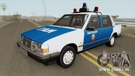 Volvo 460 (Police) 1991 für GTA San Andreas