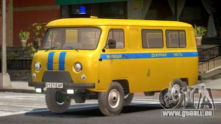 UAZ 3962 Police für GTA 4