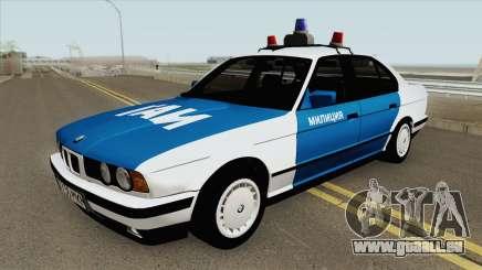 BMW 525i (E34) Police 1991 für GTA San Andreas