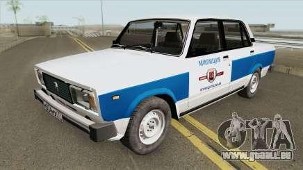 VAZ 2105 (Police Municipale) pour GTA San Andreas