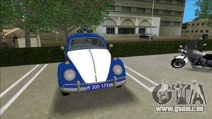 Volkswagen Beetle SFR Yugoslav Milicija (police) pour GTA Vice City