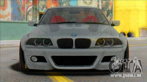 BMW E46 Sedan WideBody pour GTA San Andreas