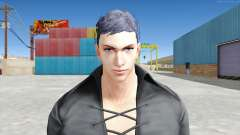Claudio Serafino Vêtements Noirs V1 pour GTA San Andreas