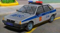 Vaz-2109 Polizei DPS 2002