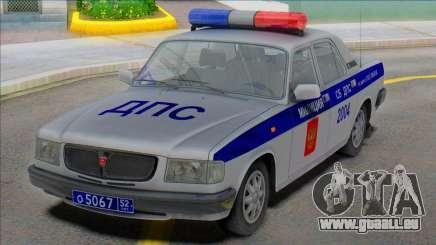 Gaz Volga 3110 Police DPS 2000 pour GTA San Andreas