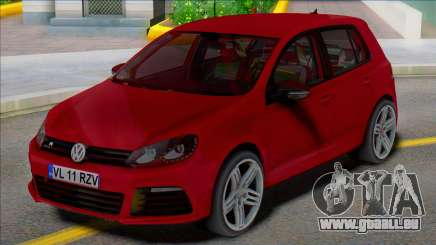 Volkswagen Golf 6 R 4 Türen für GTA San Andreas
