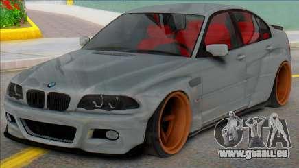 BMW E46 Sedan WideBody für GTA San Andreas