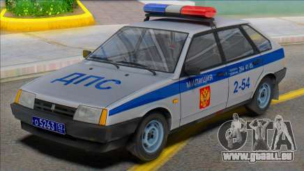 Vaz-2109 Polizei DPS 2002 für GTA San Andreas