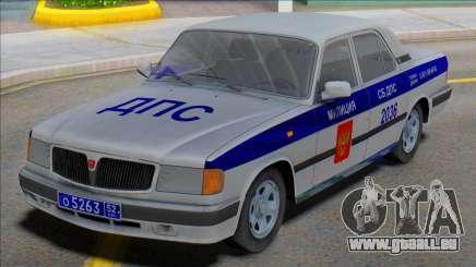 Gaz Wolga 3110 DPS v2 für GTA San Andreas