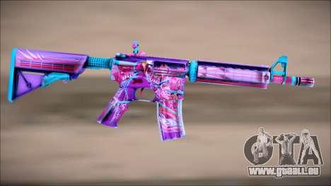 M4A4 NEON RIDER II pour GTA San Andreas