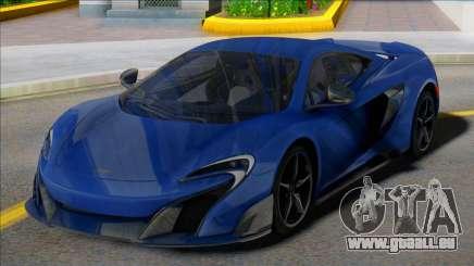 McLaren 675LT Coupe für GTA San Andreas