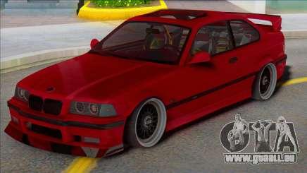 BMW M3 E36 Low Tuning für GTA San Andreas