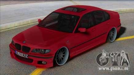 BMW E46 EU Plates für GTA San Andreas