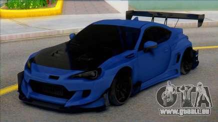 TOYOTA GT86 Carbon pour GTA San Andreas