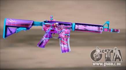 M4A4 NEON RIDER II für GTA San Andreas