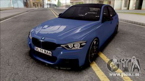 BMW 3-er F30 LCI M-Tech 2017 Light Tuning pour GTA San Andreas