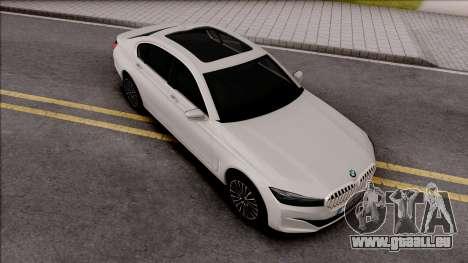 BMW M750Li G12 2019 pour GTA San Andreas