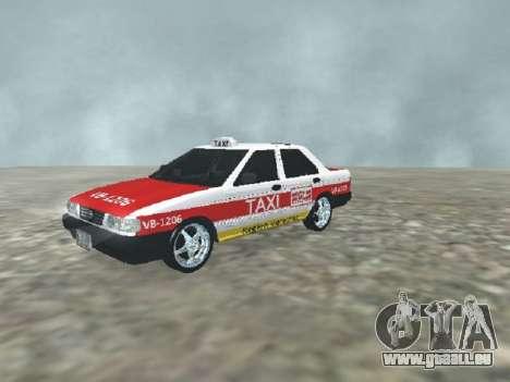 Nissan Tsuru Taxi Veracruz pour GTA San Andreas
