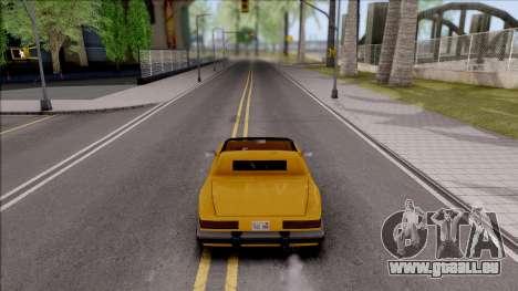 New Car Camera für GTA San Andreas