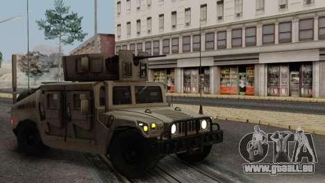 AM GÉNÉRAL HUMVEE M1151 ARMÉE D'IRAK pour GTA San Andreas