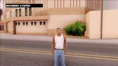 No Movement Mod für GTA San Andreas
