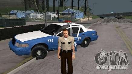 Rick Grimmes Shérif pour GTA San Andreas