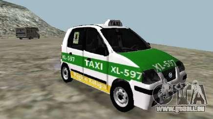 Hyundai Atos Taxi Xalapa pour GTA San Andreas