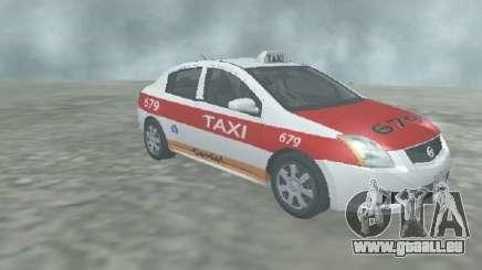 Nissan Sentra Taxi Cardel pour GTA San Andreas