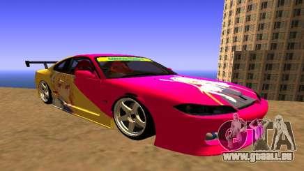 Nissan Silvia S15 Tohru Itasha pour GTA San Andreas