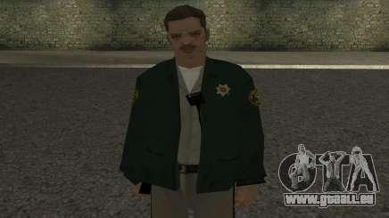 Peau de shérif pour GTA San Andreas