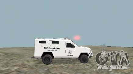Weiß SCP 2009 Ford Lenco Bearcat für GTA San Andreas