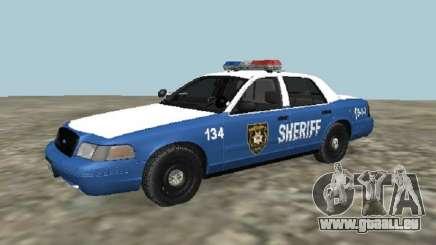 Ford Crown Victoria 2001 aus The Walking Dead für GTA San Andreas