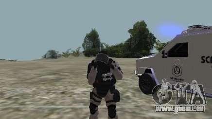 MTF SCP Peau pour GTA San Andreas