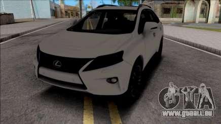 Lexus RX350 2014 pour GTA San Andreas