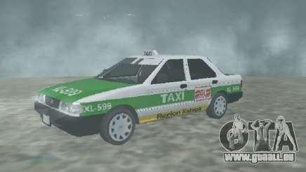 Nissan Tsuru Taxi Xalapa pour GTA San Andreas