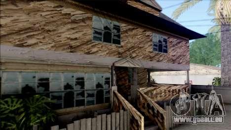 CJ Abandoned House pour GTA San Andreas