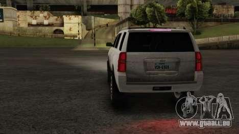 Chevrolet Tahoe 15 ImVehFT pour GTA San Andreas