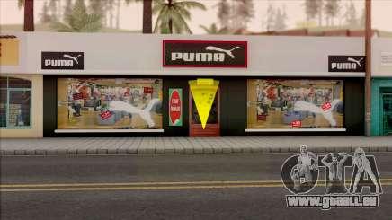 Puma Clothing Store pour GTA San Andreas