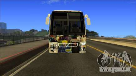 Sidhu Moosewala Volvo Bus 9700 Mod pour GTA San Andreas