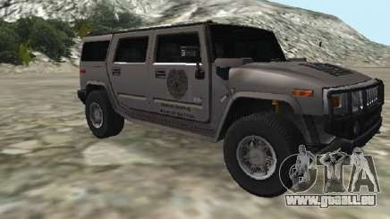 Hummer H2 CSI:Miami für GTA San Andreas