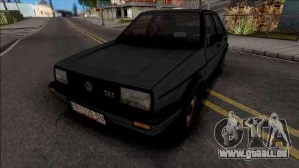 Volkswagen Jetta Mk2 TAS JX pour GTA San Andreas