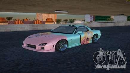 Mazda RX-7 Gabriel White Tenma pour GTA San Andreas