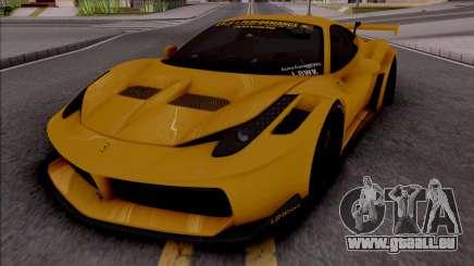 Ferrari 458 Liberty Walk Silhouette GT pour GTA San Andreas